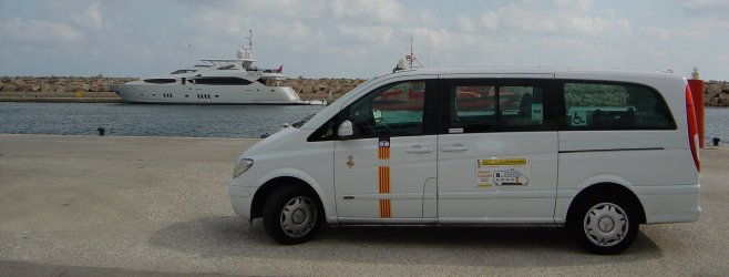 Majorca taxi to Porto Cristo.
