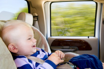Mallorca airport taxis with car baby seats