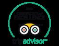 Tripadvisor Excelence Certificated