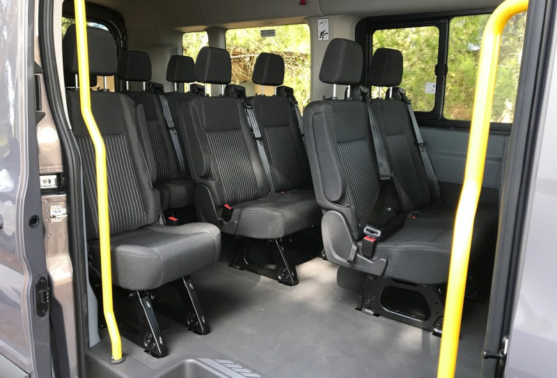 Minibus transfers from Mallorca Airport.
