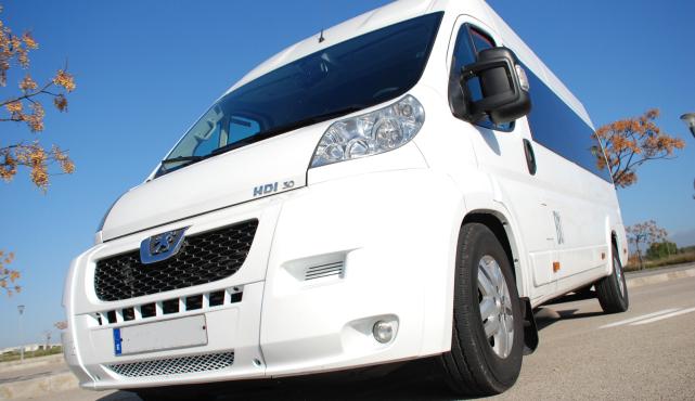 PMI airport minibuses